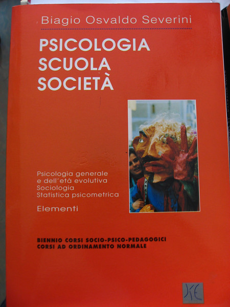 Biagio was a high school psychology teacher. This is one of the books he wrote.