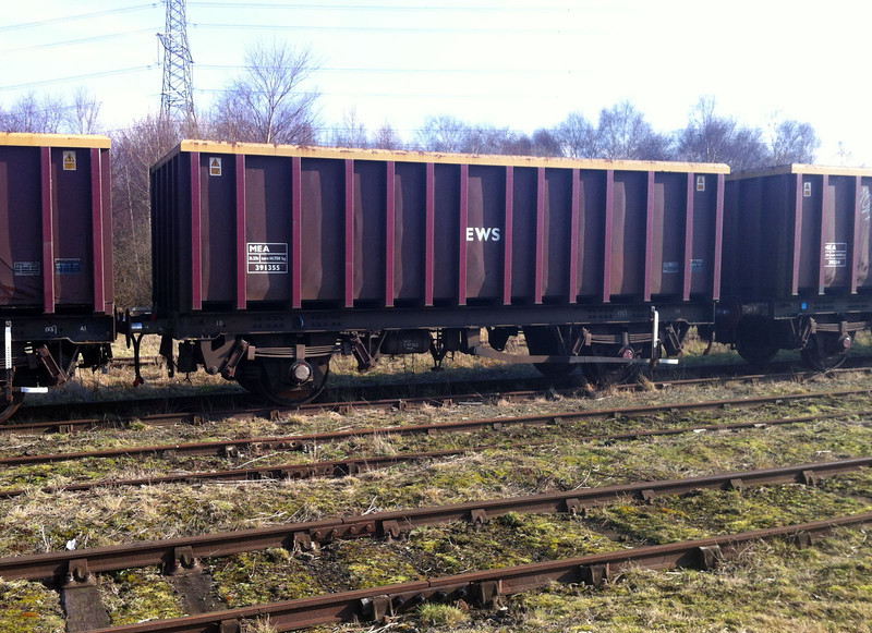 MEA 391355 seen at Dee Marsh 17/02/13.