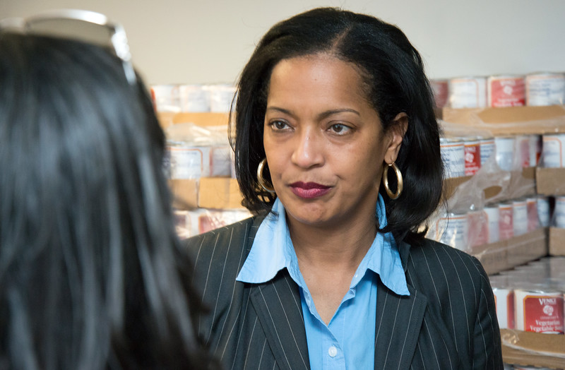 03/15/19  Wesley Bunnell   Staff  Foodshare along with the New Britain Housing Authority have created a new TEFAP distribution site which helps supplement the diets of low income persons at no cost. Congresswoman Jahana Hayes stands in front of a large stockpile of canned goods.