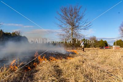 20180121 - Unincorporated Lebanon - Large Brush Fire