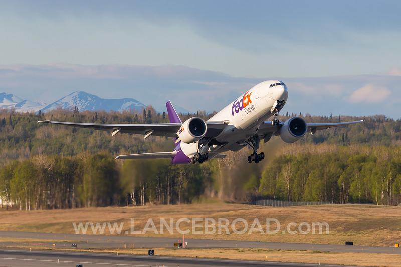 FedEx 777-200F - N880FD - ANC