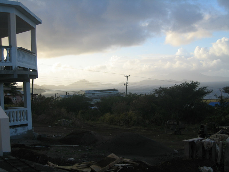 Sunrise in St Kitts.