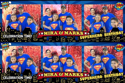 Mira & Mark's Superhero Party