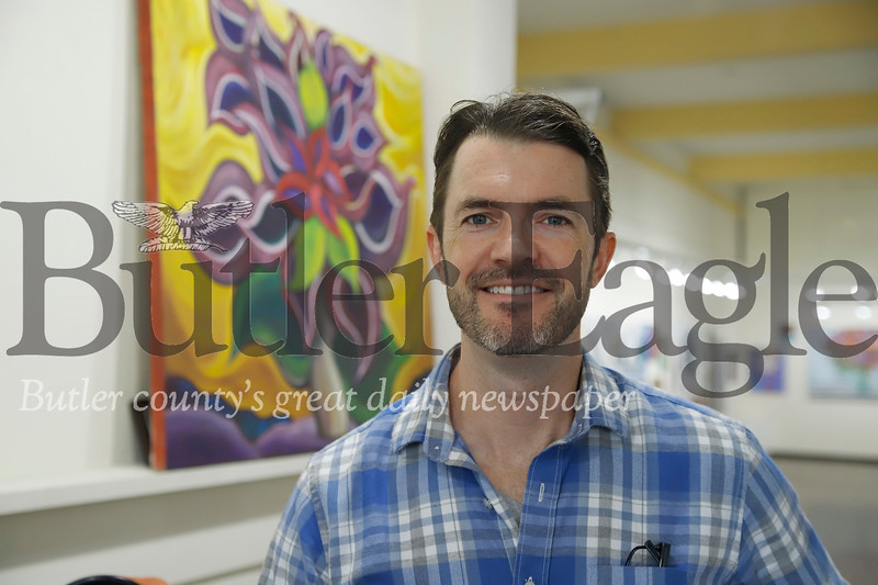 Cyclist and author Chris Register. Seb Foltz/Butler Eagle