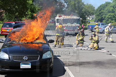 South Windsor, Ct Auto fire 6/24/15