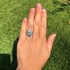 1.75ctw Edwardian Toi et Moi Old European Cut Diamond Ring  54