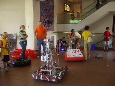 RMSC Robot Family Day Demo