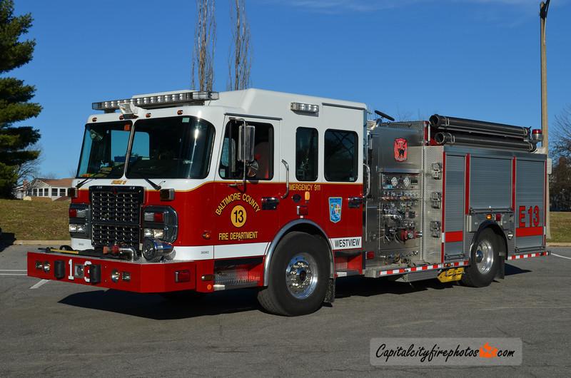 Westview Engine 13: 2010 Spartan Gladiator/Rosenbauer 1500/750