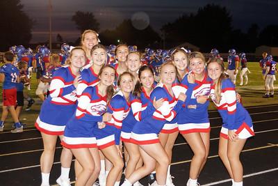LB FB Cheerleading @ LBHS (2019-08-30)