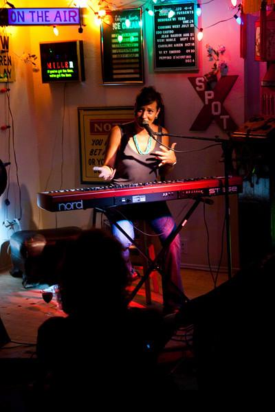 Keri Noble: House Concert in San Rafael Sep 19th 2009