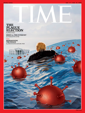 Time cover 'The Plague Election'