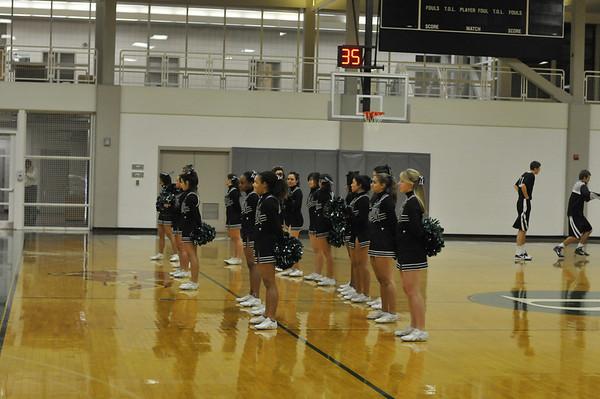 Babson Cheerleaders  1.19.2010