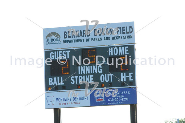 Boys Baseball of Aurora Minor and Major League Championship games at Garfield Park in Aurora, Ill  7-19-13