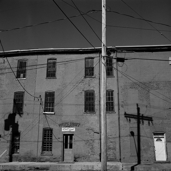 Alley View #1, Oneida, NY. November 2009