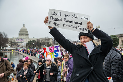 Women's March in D.C.
