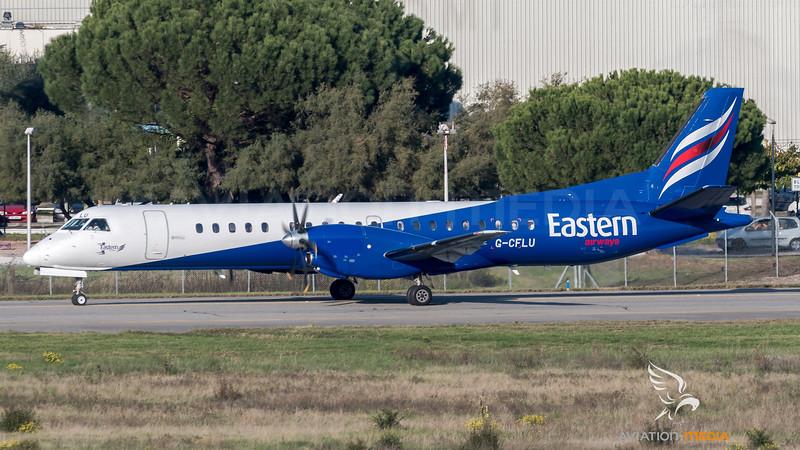 Eastern Airways / Saab 2000 / G-CFLU