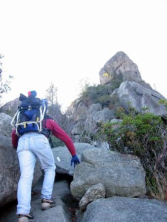 Frances Melfi Vist - Old Rag Mt.