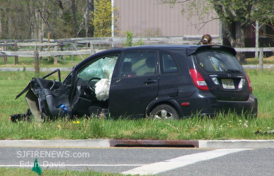 04-29-2007, MVC With Entrapment, Vineland City, Cumberland County, Hance Bridge Rd. and Palermo Ave.
