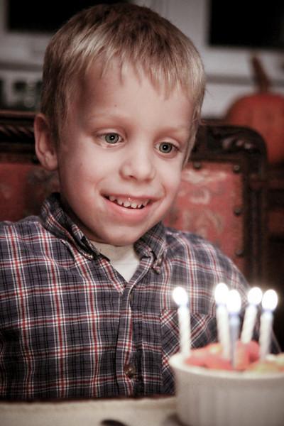 Christian's Birthday (the big 5)