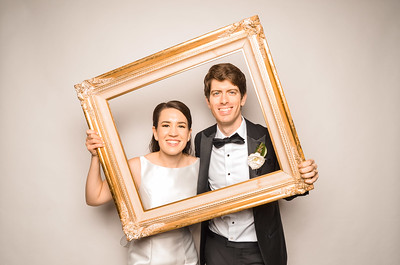 Elizabeth & Austin's Wedding Photo Station