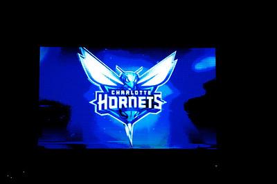 Utah Jazz vs Charlotte Bobcats  - Hornets Logo Unveiling  12-21-13 by Jon Strayhorn