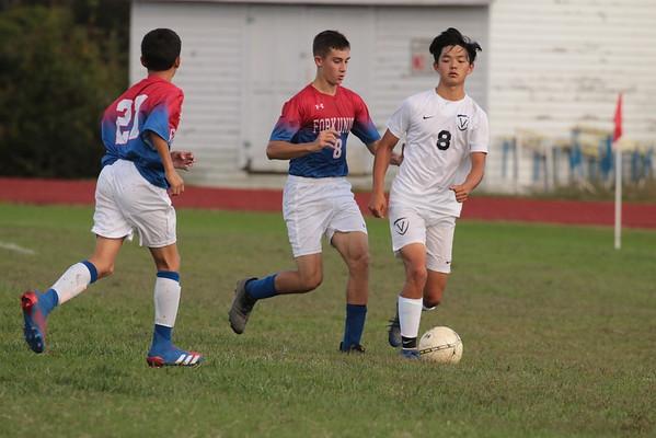 Prep Soccer vs. Veritas School - Oct 14