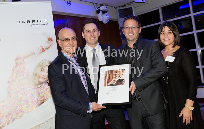 Carrier Preferred Partner Awards. The Roof Gardens - Kensington. 6th November 2013