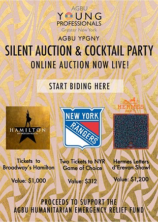 Silent Auction & Cocktail Party 2017 - Live Auction Open