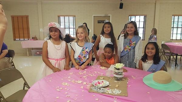 Little Flowers Girls Club-Tea Party 2016