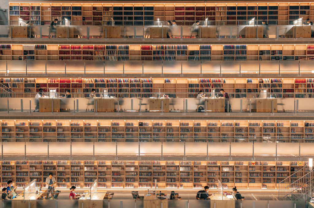 政大達賢圖書館參觀與拍攝建議 by 旅行攝影師張威廉 Wilhelm Chang