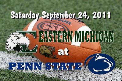 2011 Eastern MIchigan at Penn State (09-24-11)