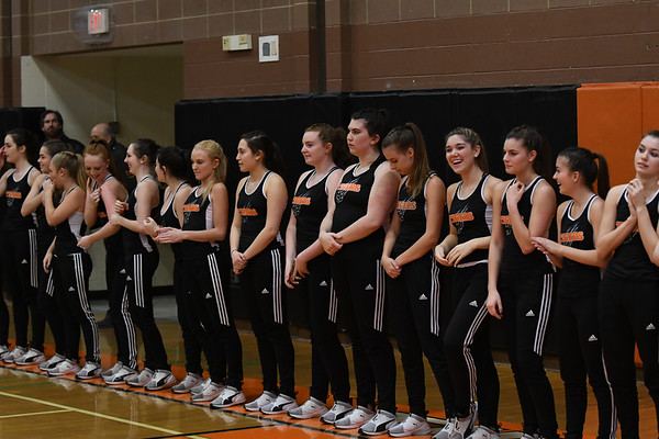 RHS Dance Team 2018 - Basketball