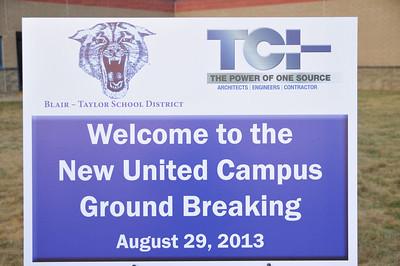 United Campus Groundbreaking 2013