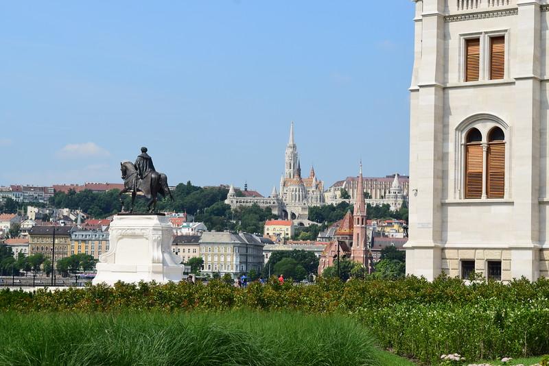 Vista al otro lado del Danubio