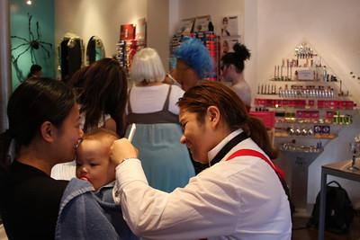 First Haircut - First Facepainting-First Halloween