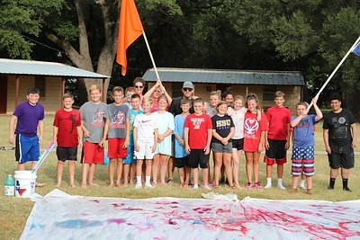 FBCBG Youth Paint Party 2019