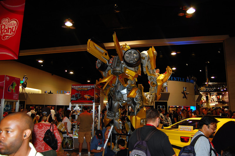 The back of Bumblebee