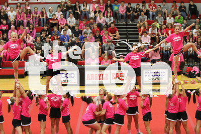 Play for the Cure Pep Ralley