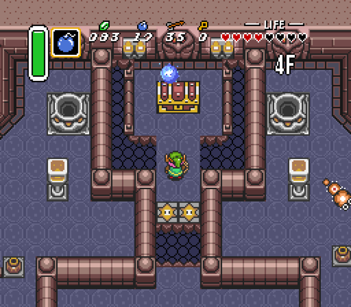A Link to the Past Item chest