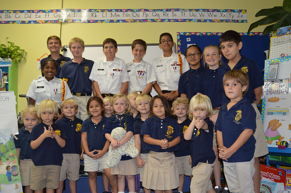 7th Grade Buddies