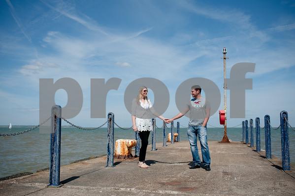 Sarah and Jon at East Quay