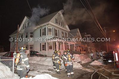 Black Rock Ave. Fire (Bridgeport, CT) 2/26/15