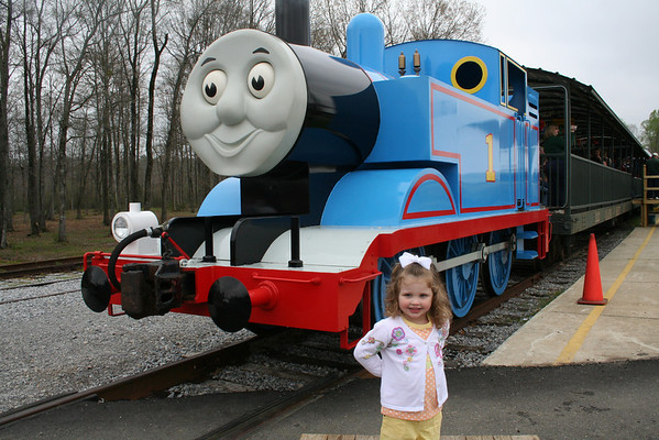 Candy, Pigtails, and Thomas the Tank
