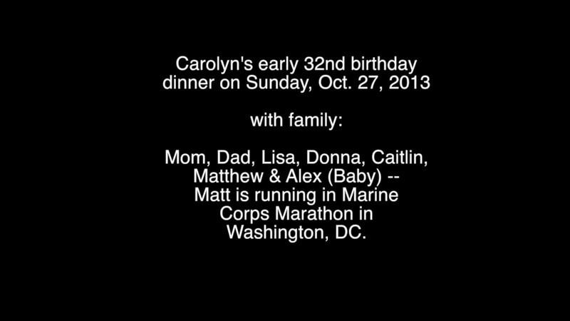 CMS' 32nd Birthday