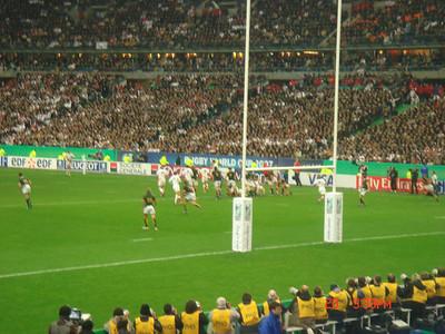 October 2007 - Paris, France (RWC Final)