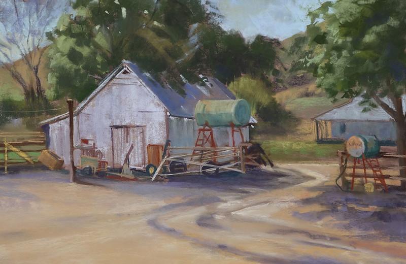 chapman-Caliente-Ranch-12x18-pastel.jpg