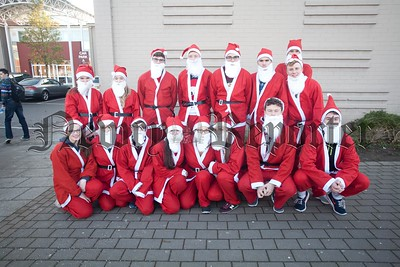 Another Successful Santa Run Took place at St Paul's HS Bessbroo. Pictured are some of those who took part. R1551020