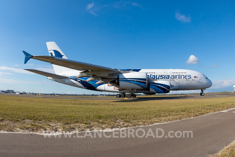 Malaysia Airlines A380-800 - 9M-MND - SYD