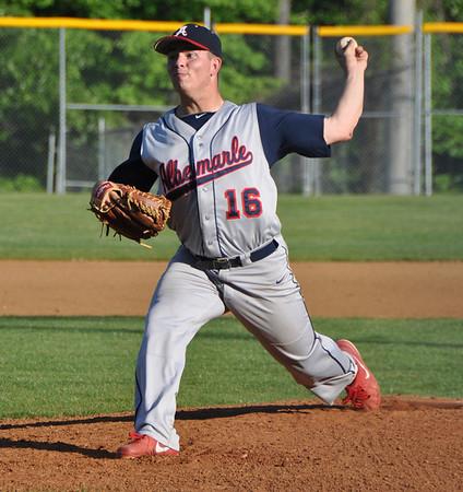 Albemarle baseball/softball beat Brooke Point 2013