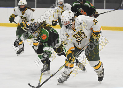 King Philip - Mansfield/Oliver Ames Girls Hockey 1-8-21